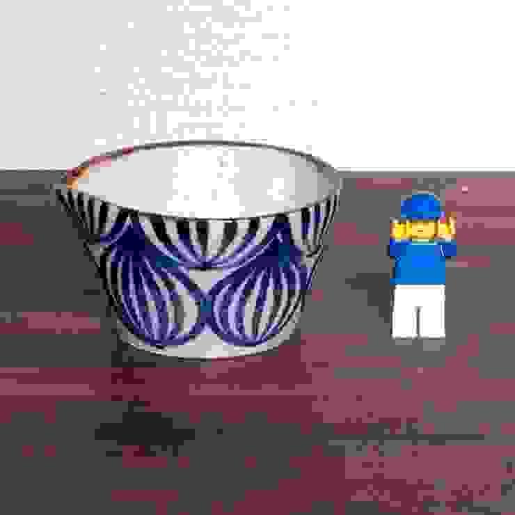 タマネギ柄のドレッシングボウル: キカキカクが手掛けた現代のです。,モダン 陶器