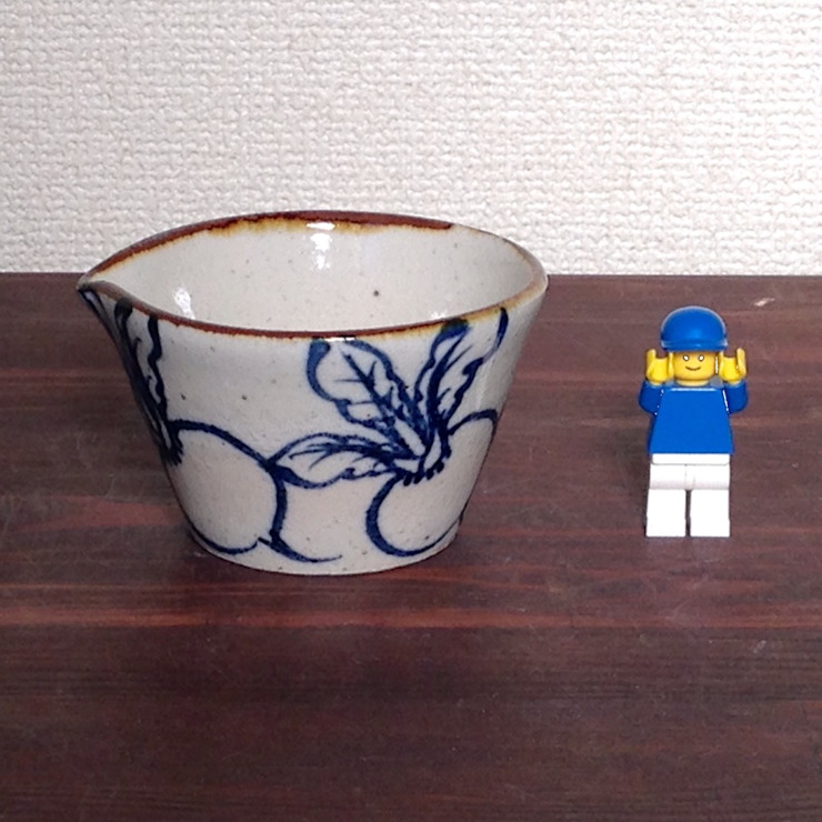 カブ柄のドレッシングボウル: キカキカクが手掛けた現代のです。,モダン 陶器