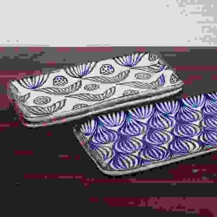 和にも洋にも合うシカク皿: キカキカクが手掛けた現代のです。,モダン 陶器