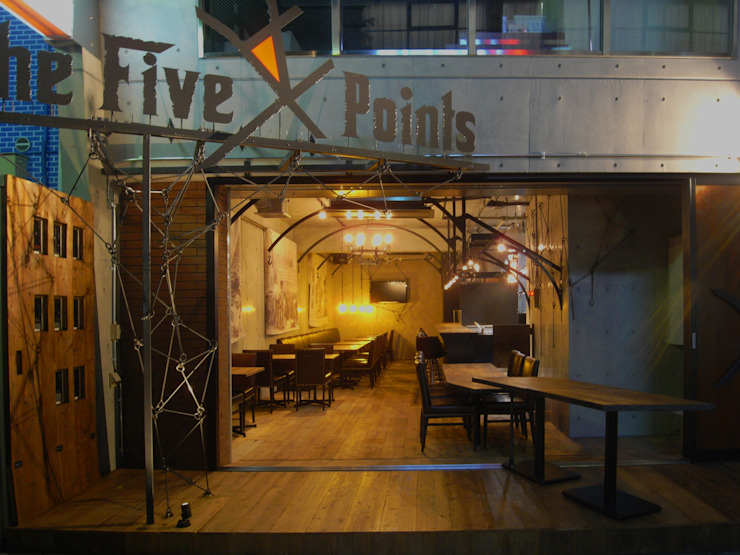Diners The Five Points の (株)グリッドフレーム インダストリアル