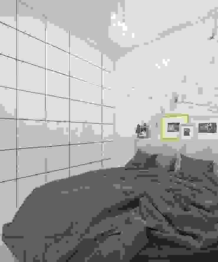 Minimalist bedroom by Дизайн студия Марины Геба Minimalist