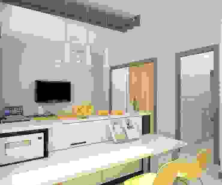 Cocinas de estilo minimalista de Дизайн студия Марины Геба Minimalista