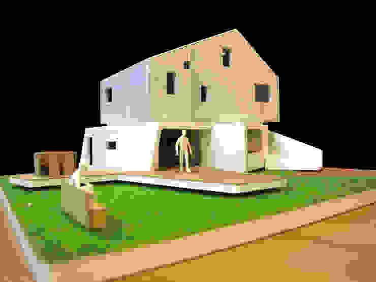 Loop House 무한궤도 하우스 : ADMOBE Architect의 현대 ,모던
