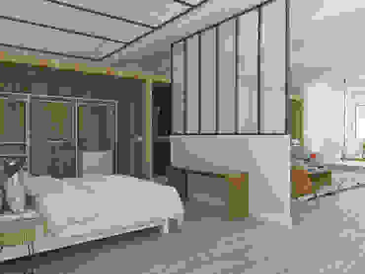 Scandinavian style bedroom by ESTUDIO BAO ARQUITECTURA Scandinavian