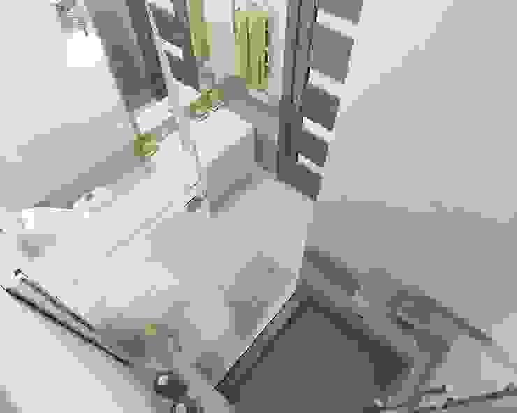 Baños de estilo minimalista de Дизайн студия Марины Геба Minimalista