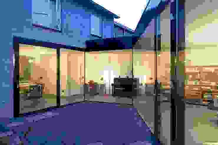 uitbreiding woonhuis Moderne huizen van JMW architecten Modern Glas