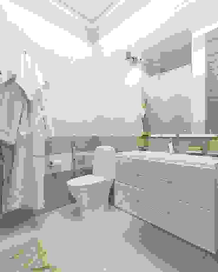 Minimalist style bathroom by Дизайн студия Марины Геба Minimalist