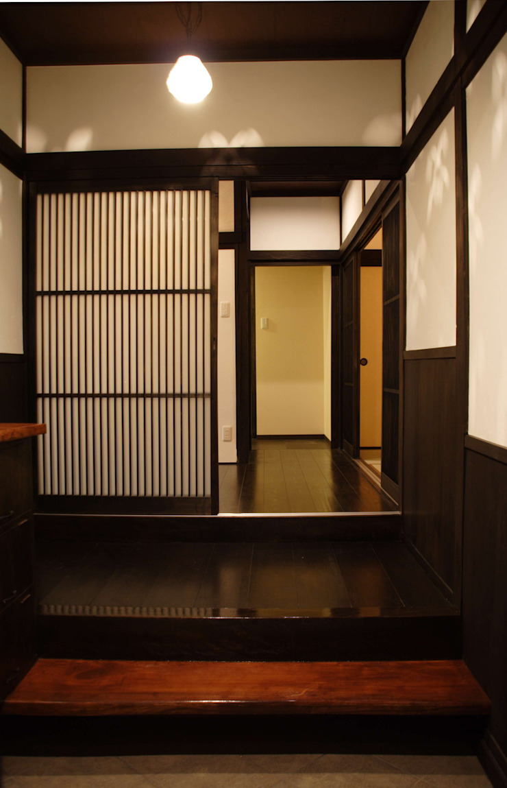 アフター(玄関) の 宮田建築設計室