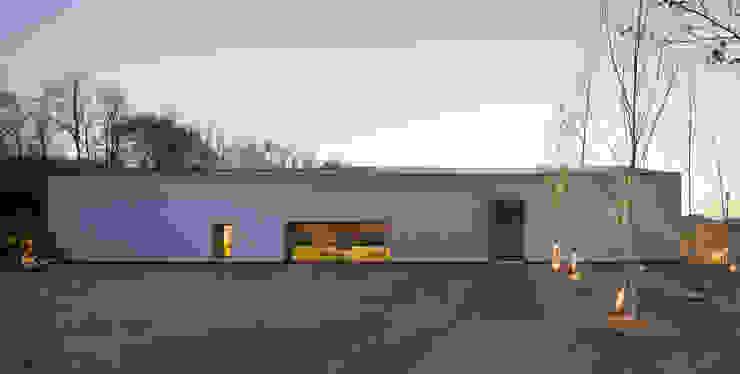 Woogae Memorial 우계기념관 미니멀리스트 스타일 박물관 by ADMOBE Architect 미니멀