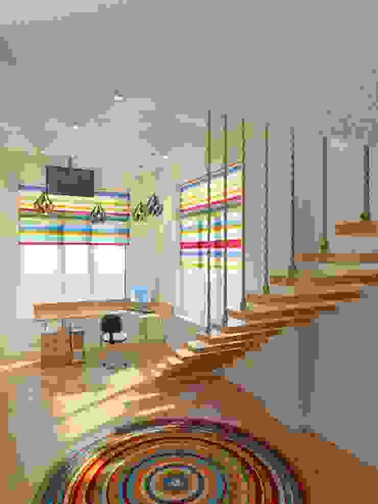 Детская Детские комната в эклектичном стиле от Дизайн студия Александра Скирды ВЕРСАЛЬПРОЕКТ Эклектичный