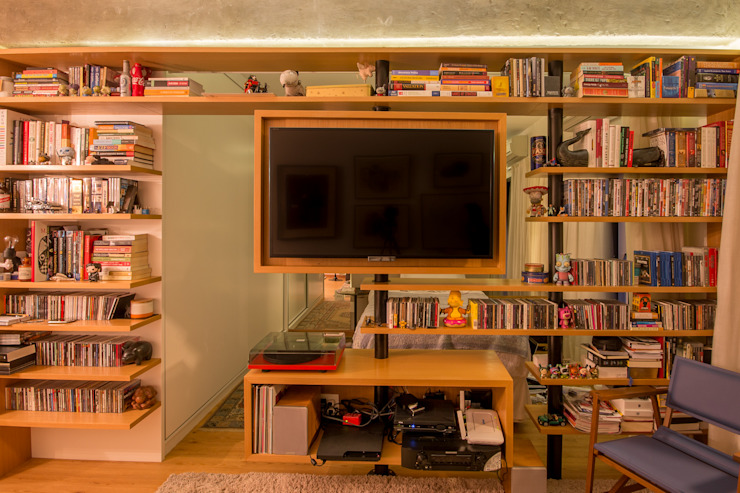 Ruang Keluarga Modern Oleh Sacada Modern