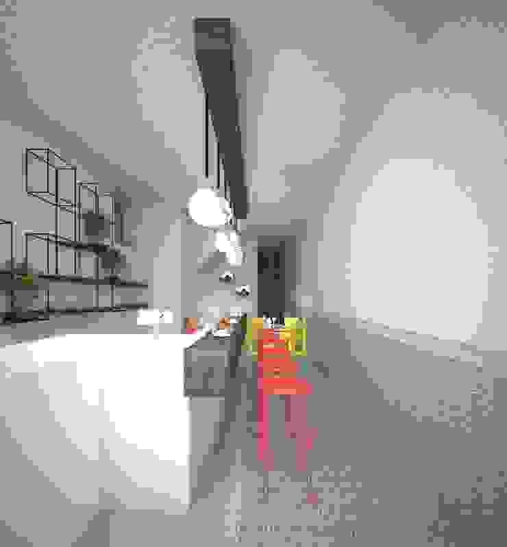 Progetto Modern style kitchen by Architetto Valentina Longo Modern