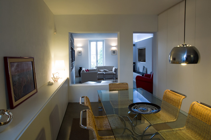 Progetto Phòng ăn phong cách tối giản bởi studio ferlazzo natoli Tối giản