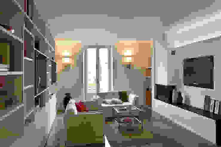 Progetto Phòng khách phong cách tối giản bởi studio ferlazzo natoli Tối giản