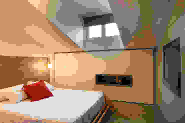 Progetto Phòng ngủ phong cách tối giản bởi studio ferlazzo natoli Tối giản