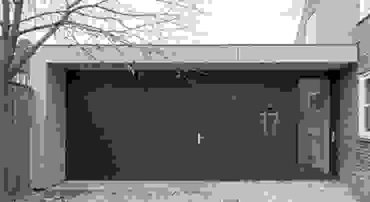 uitbreiding woonhuis Moderne ramen & deuren van JMW architecten Modern Metaal