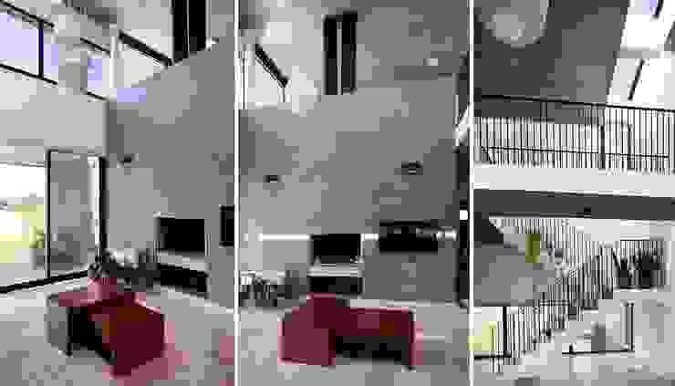 Гостиная в стиле модерн от Speziale Linares arquitectos Модерн
