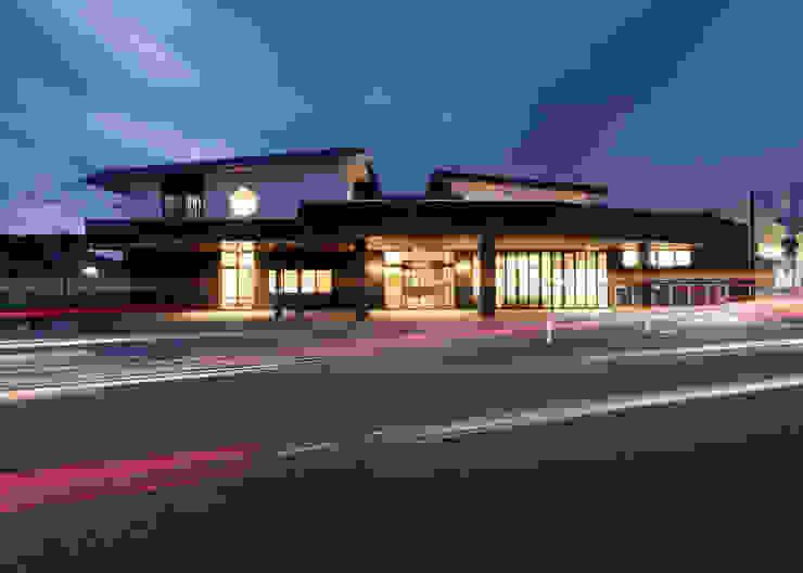 外観(改修後) アジア風医療機関 の 宮田建築設計室 和風
