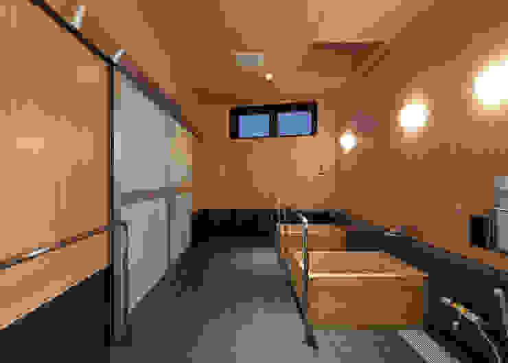 浴室 アジア風医療機関 の 宮田建築設計室 和風
