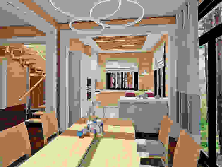 Дом у Медного озера Столовая комната в эклектичном стиле от Be In Art Эклектичный
