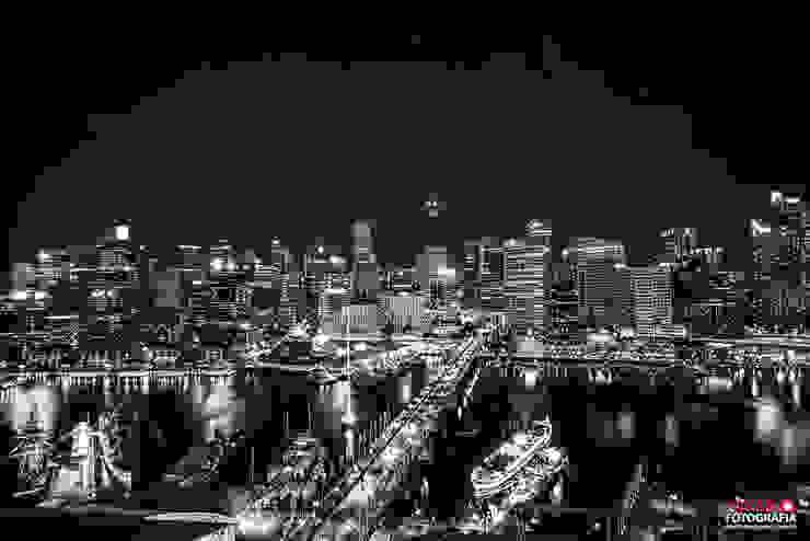 Sydney Varandas, alpendres e terraços modernos por Pavan Fotografia | Marcus Vinicius Pavan Moderno