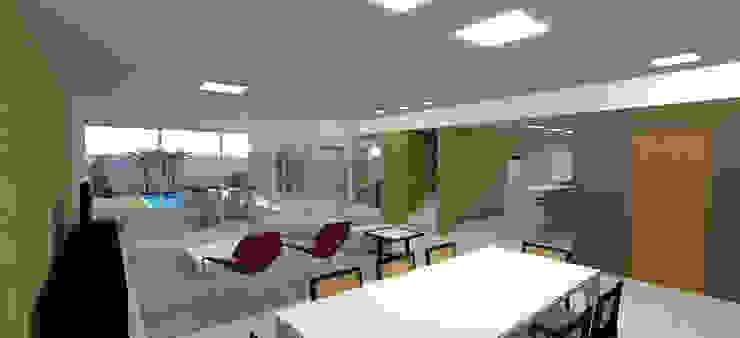 Modern living room by grupo pr | arquitetura e design Modern