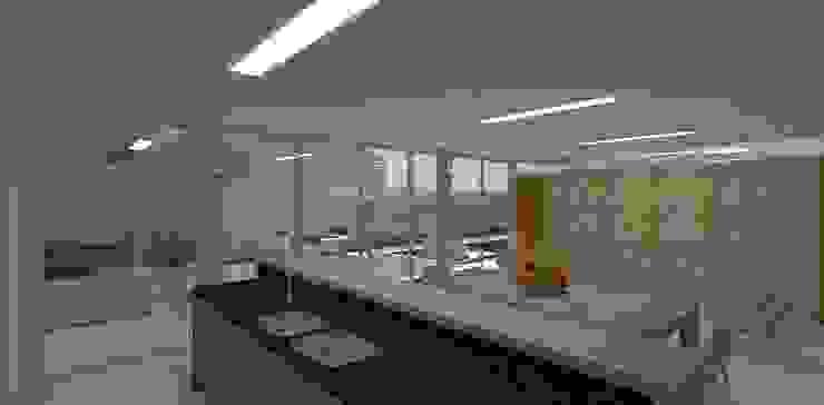 Modern kitchen by grupo pr | arquitetura e design Modern