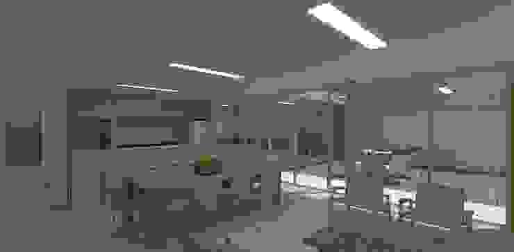 Modern dining room by grupo pr | arquitetura e design Modern