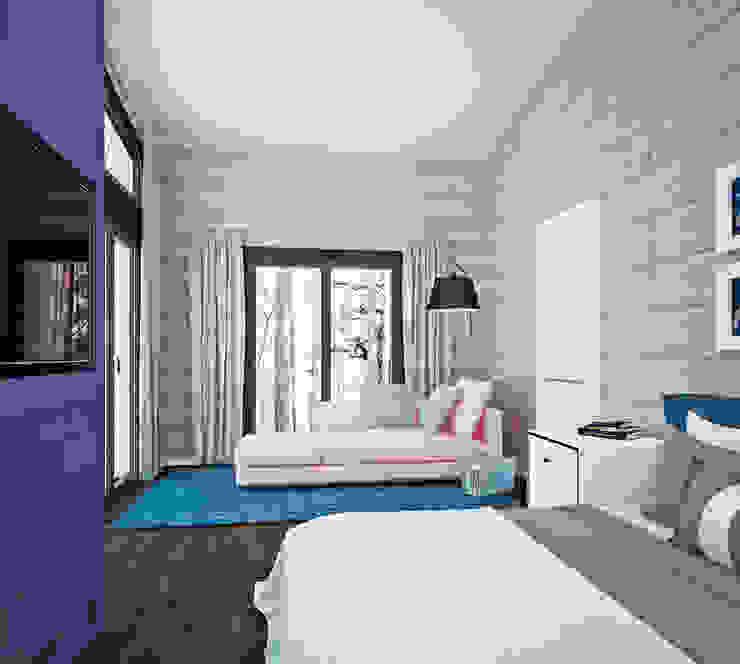 Дом у Медного озера Спальня в эклектичном стиле от Be In Art Эклектичный