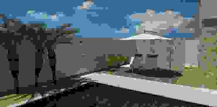 Modern pool by grupo pr | arquitetura e design Modern