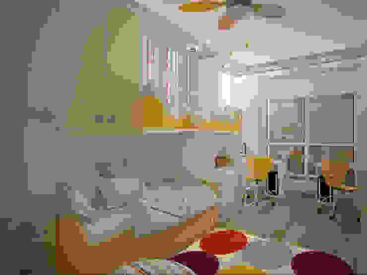 интерьер квартиры в ЖК Ньютон Детская комнатa в стиле минимализм от Студия дизайна интерьера Designer-PRO Минимализм