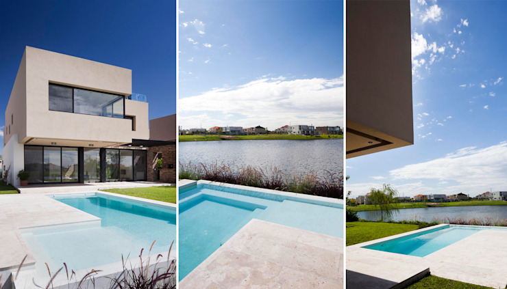Modern style gardens by Speziale Linares arquitectos Modern