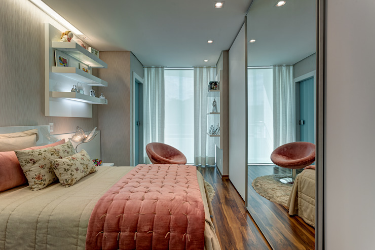 Bedroom by Isabella Magalhães Arquitetura & Interiores, Modern