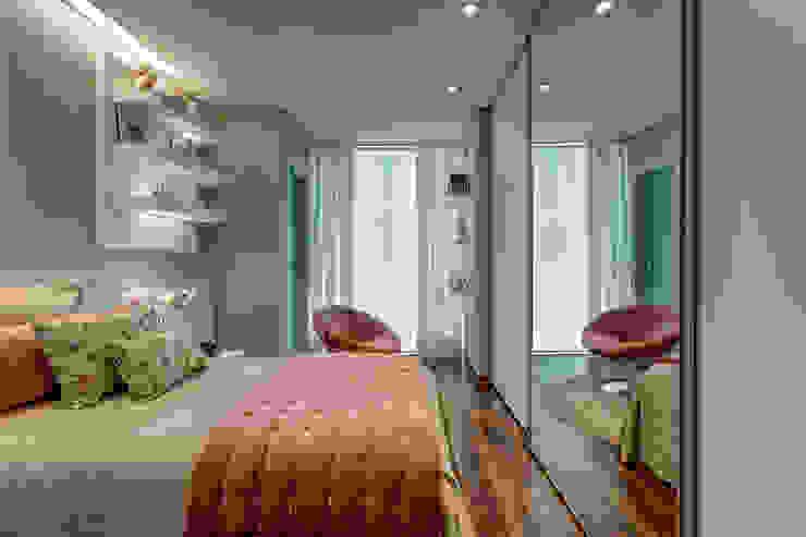 Residência em Ibirité / MG Quartos modernos por Isabella Magalhães Arquitetura & Interiores Moderno