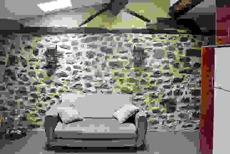 Living Room Modern living room by HAS - Hinterland Architecture Studio Modern