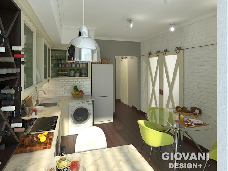 Giovani Design Studio Scandinavian style kitchen