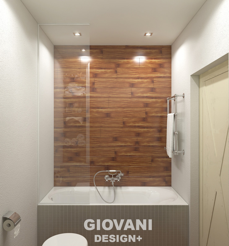 Giovani Design Studio Scandinavian style bathroom