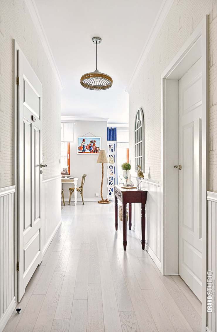 DreamHouse.info.pl Eclectic corridor, hallway & stairs