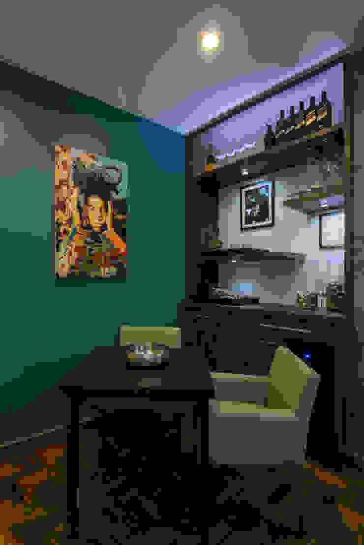 Apartamento Copacabana Salas de jantar modernas por Seu Espaço - Arquitetura Moderno