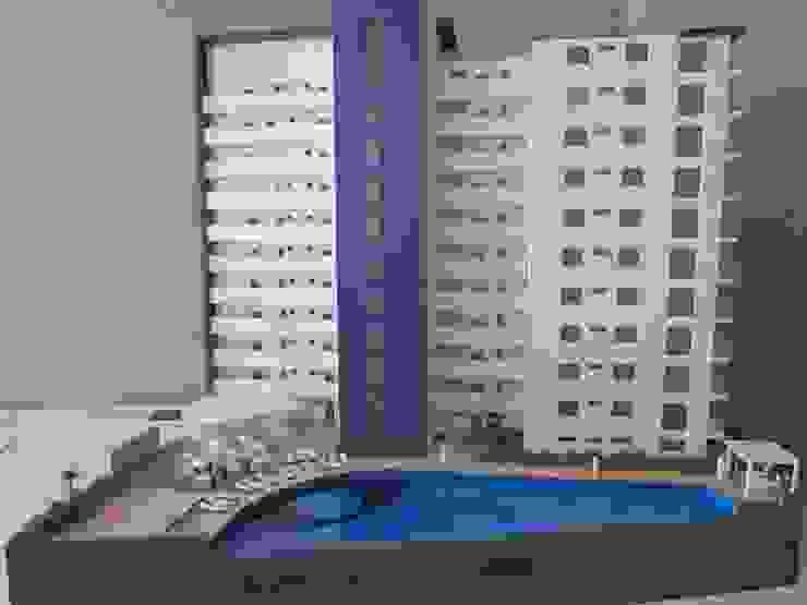 Fachada posterior de Constructora e Inmobiliaria Catarsis