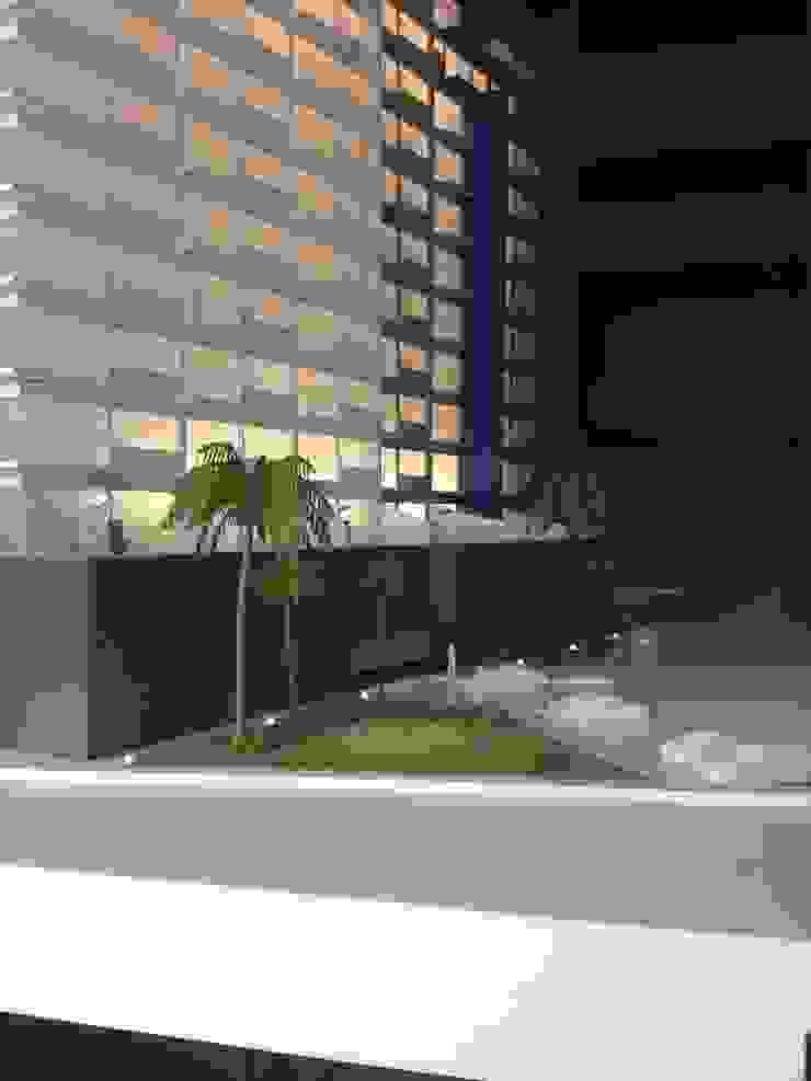 Maqueta con iluminación interior de Constructora e Inmobiliaria Catarsis