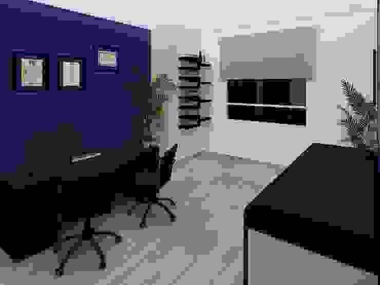 Consultorio Dr. Mota de Constructora e Inmobiliaria Catarsis Minimalista