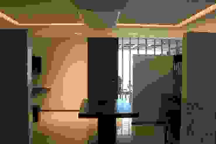 Sala de trabajo Estudios y despachos modernos de LC Arquitectura Moderno