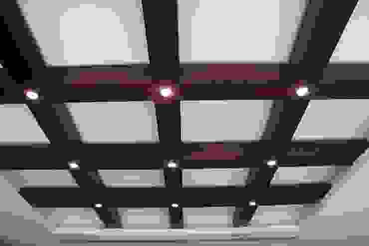 Iluminación creativa Estudios y despachos modernos de LC Arquitectura Moderno