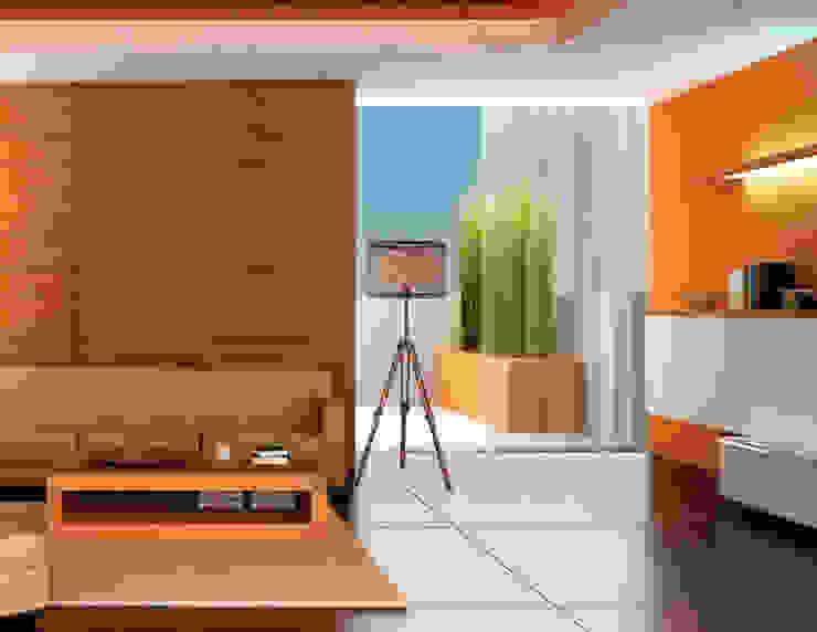 Class Iluminación Soggiorno moderno Arancio