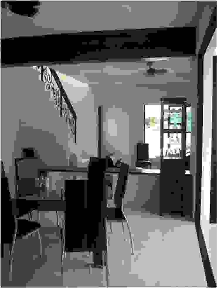 Casa Privada 21 Comedores tropicales de Constructora e Inmobiliaria Catarsis Tropical