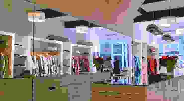 Winkelinterieur 'De Joffers' Maastricht: modern  door DI-vers architecten - BNA, Modern