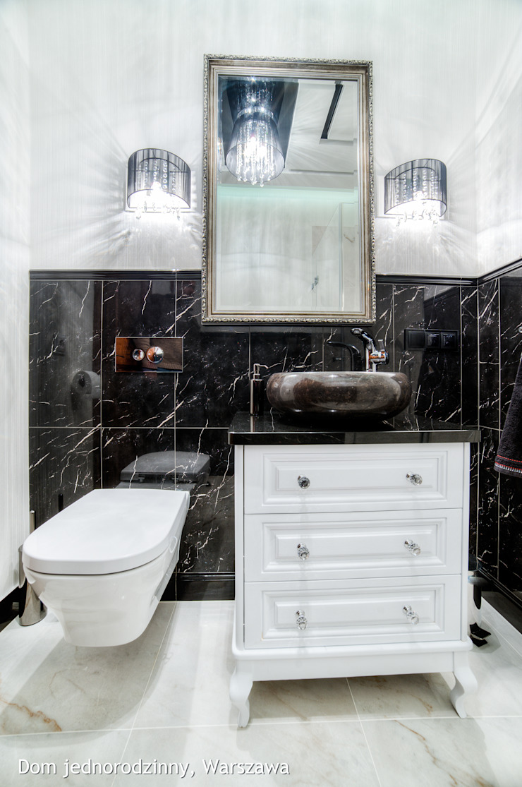 łazienka Klasyczna łazienka od Auraprojekt Klasyczny