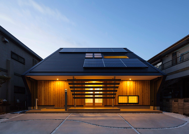Asian style house by 株式会社タバタ設計 Asian