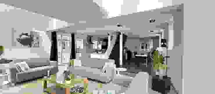 Vdm M Moderne woonkamers van Rove Modern